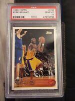 1996 TOPPS PSA 10 GEM MINT PRISTINE Kobe Bryant Rookie Card #138 HOF NBA LAKERS