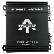High Power 1000 watts 2 ch Car Audio Amplifier for all Subwoofer & Speakers