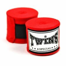 Twins Handwraps 5M Red Ch5 Premium Elastic Stretch Boxing Kickboxing Striking