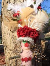 Pink/Red Voodoo Doll