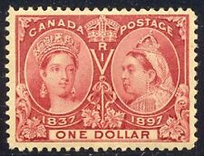 CANADA #61 CHOICE Mint - 1897 $1.00 Jubilee