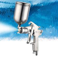 HVLP Air Spray Gun 3.0mm Nozzle Gravity Feed Auto Paint Repair Sprayer W-77