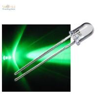 10 LED BLINKEND 5mm GRÜN FLASHING ALARM-DUMMY superhell
