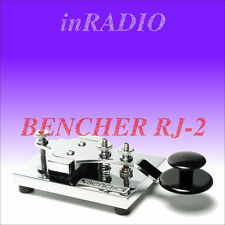 BENCHER RJ-2 - HAND MORSE CODE CW KEY CHROME BASE AND COMPONENTS RJ2