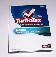 Turbotax 2007 Basic version. New in Box Turbo Tax 2007