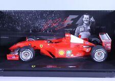 TC10 Ferrari F2001 Michael Schumacher F1 1:18 1/18 Red Diecast Car Hot Wheel