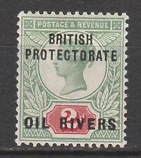 OIL RIVERS NIGER COAST 1892 QV 2D