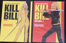 Kill Bill Vol. 1 & 2 Dvd Quentin Tarantino Uma Thurman Revenge Movies