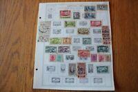 B01 Lot of Lebanon Liban & Liberia Stamps on 10 Minkus binder Pages