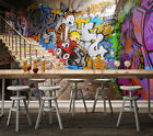 3D Stairway Graffiti Wall Paper Wall Print Decal Wall Deco Indoor AJ Wall Paper