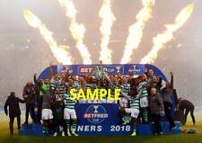 Celtic FC agudos agudos 3 momentos históricos de celebración brillante A4 impresiones de fotos