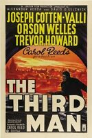 THE THIRD MAN MOVIE POSTER Orson Welles RARE VINTAGE