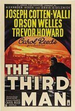 The Third Man Movie Poster Orson Welles Rare Vintage