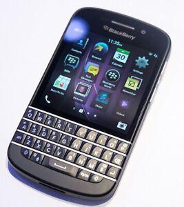 Blackberry Q10 (SPRINT ONLY) 16GB QWERTY Bar Cellular Phone w/ SIM Card