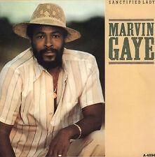"MARVIN GAYE  – Sanctified Lady (1985 SOUL VINYL SINGLE 7"" DUTCH PS)"