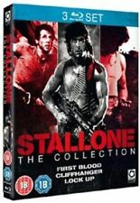 Stallone Collection First Blood Cliffhanger Lock up Blu-ray Region B