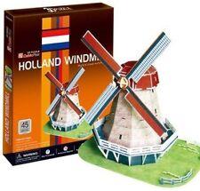 Cubic Fun - 3d Puzzle Holländerwindmühle Windmühle Holland Mittel