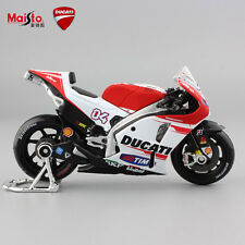 1:18 scale kid maisto motorcycle model Ducati diecast No.4 motoGP race car toys