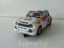 "Slot SCX Scalextric Altaya Renault 5 Turbo ""Principe de Asturias '86"" Nº9"