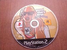 -Sony PlayStation 2 PS2 Disc Only Tested Grand Theft Auto San Andreas GTA Ship