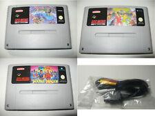 Super Nintendo Turtles in Time + Battletoads Double Dragon + Super Double Dragon
