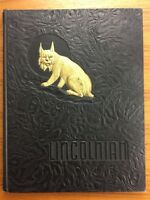 1945 LINCOLN HIGH SCHOOL Tacoma Washington WA YEARBOOK The Lincolnian ANNUAL