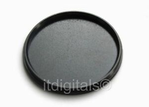 46mm Metal Screw-in Front Lens Cap Fits Filter Hood Safety Dust Glass Cover New