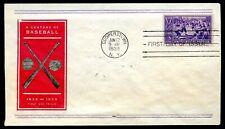 U.S. Scott 855 Baseball Centennial FDC Unaddressed
