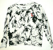 Marvel Comics Venom Shirt Woman's New Beach Tie-Dyed Long Sleeve Large
