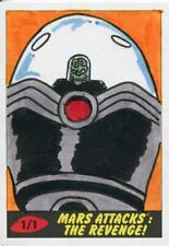 Mars Attacks The Revenge Sketch Card By Ibrahim Ozkan