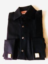 Thomas Pink French Cuff Black Pattern  Dress Shirt - size 14 1/2 -37cm