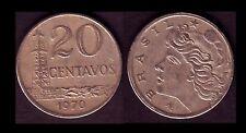 ★★ BRESIL ● 20 CENTAVOS 1970 ● E5 ★★