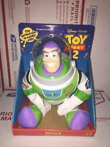 "Disney Pixar Buzz Lightyear 12"" Cuddle Plush Toy Story 2 Mattel 82657"
