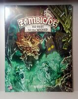 No Rest for the Wicked Ed. Italiana Asmodee STR8438 Zombicide Black Plague