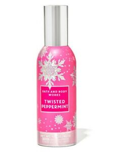 Bath & Body Works TWISTED PEPPERMINT Concentrated Room Spray Home Fragrance Mist