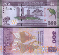 SRI LANKA BILLETE 500 RUPEES. 15.11.2013 LUJO. Cat# P.129a