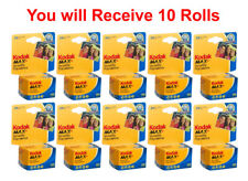 10 Rolls Kodak Ultramax 400 35mm Film GC 135-24 Exp GOLD Color Print 11/2021