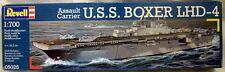 Revell 05025: Assault Carrier U.S.S. boxer lhd-4, kit en 1/700, n e u & OVP