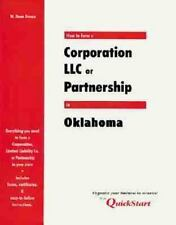 How to Form a Corporation, LLC, or Partnership in Oklahoma
