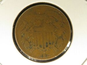 1867 Two Cent Piece 4