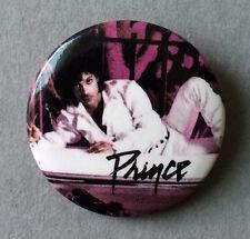Vintage 1984 Prince pin button Purple Rain era tour badge Revolution pinback NM