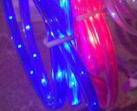 3FT LED GLOW LIGHT-UP data sync charger cable FOR apple samsung htc lg micro USB
