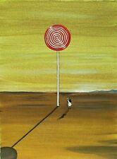 ORIGINAL PAINTING RYTA Contemporary Impressionism Art Modern Canvas Surrealism