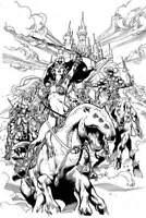 Dejah Thoris #9 1:20 McKone B/&W Variant EB02