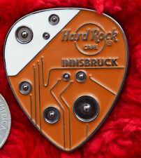 Hard Rock Cafe Pin Innsbruck 3D Guitar Pick amp circuit speaker hat lapel logo