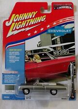 1968 CHEVY IMPALA CONVERTIBLE GREEN JOHNNY LIGHTNING MUSCLE CARS USA 1:64 JL