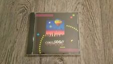 COREL DRAW Version 3.0 A 3.0A Vintage Computer CD-ROM Software 1991