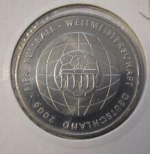 10 Euro Silbermünze FIFA Fussball WM Deutschland 2006 4. Ausgabe *2006*