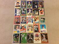 HALL OF FAME Baseball Card Lot 1980-2020 KEN GRIFFEY JR NOLAN RYAN LOU BROCK +