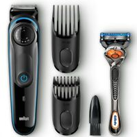 Braun Beard Trimmer BT3040 Ultimate Hair Clipper, 39 Length Settings 1 ea